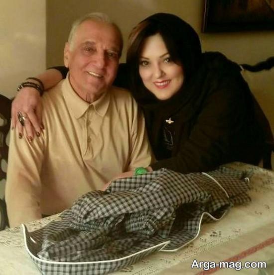بیوگرافی پرستو گلستانی و همسرش