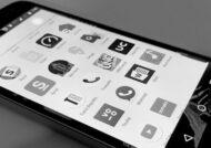سیاه و سفید شدن صفحه گوشی