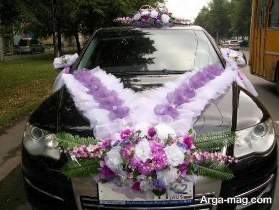 ایده هایی بینظیر و ایده آل از تزیین ماشین عروس مشکی برای تمامی سلیقه ها
