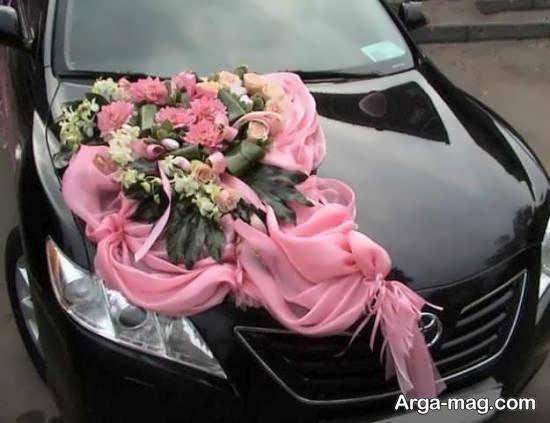 ایده هایی زیبا و جذاب از تزیین خودروی عروس مشکی رنگ