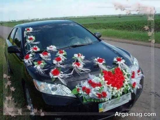 ایده هایی زیبا و جذاب از تزیین ماشین عروس سیاه رنگ