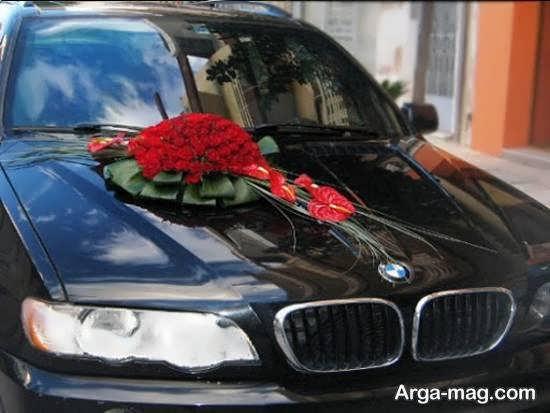 ایده هایی زیبا از تزیین ماشین عروس سیاه رنگ