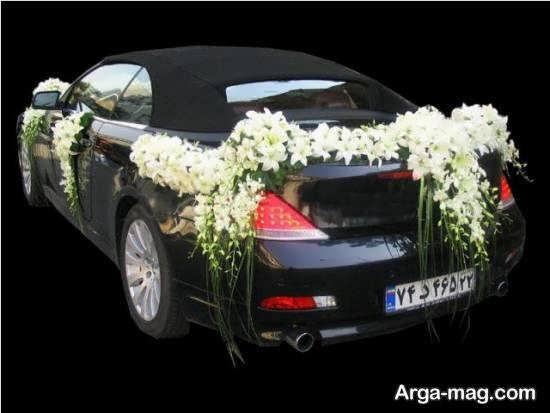 ایده های زیبا و جذاب از تزیین ماشین عروس شیک و لاکچری