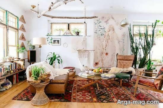 ایده هایی خارق العاده و ناب از دیزاین منزل با سبک بوهو