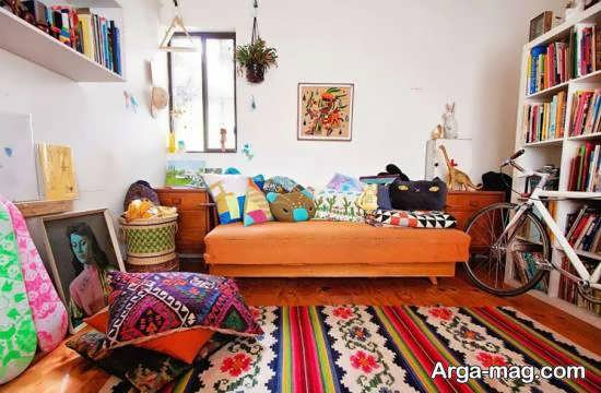 ایده هایی فوق العاده و نفیس از چیدمان منزل به سبک بوهو