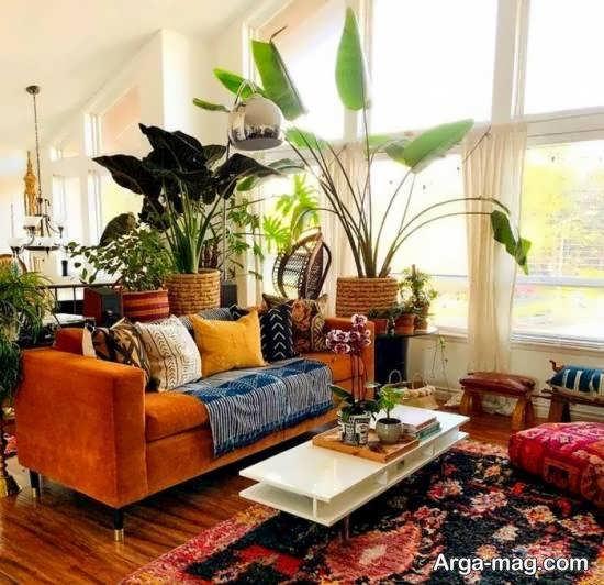 نمونه هایی زیبا و جذاب از دیزاین سبک بوهو