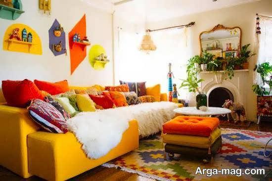 انواع ایده های خاص و خواستنی از سبک بوهو برای دیزاین منزل