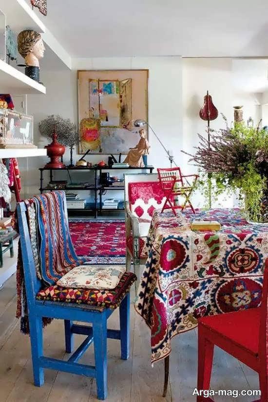کلکسیونی از ایده های زیباسازی منزل به سبک بوهو
