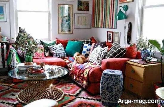 نمونه هایی ایده آل و دوست داشتنی از چیدمان منزل به سبک بوهو