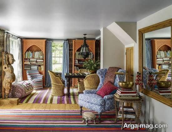 ایده هایی خاص و متفاوت برای دیزاین منزل به سبک بوهو