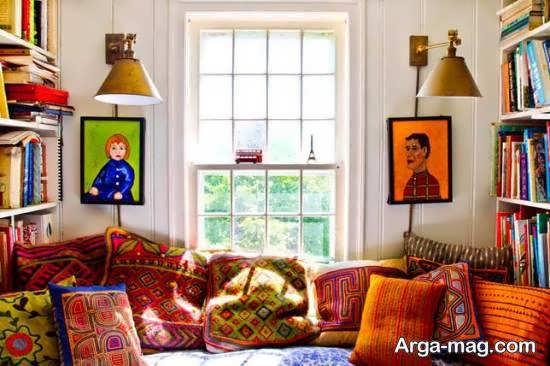 طرح هایی زیبا و متنوع از دکوراسیون منزل به سبک بوهو
