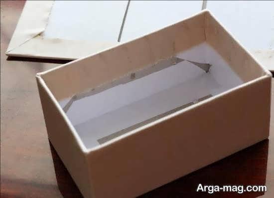جعبه سازی پارچه ای و آموزش دو روش