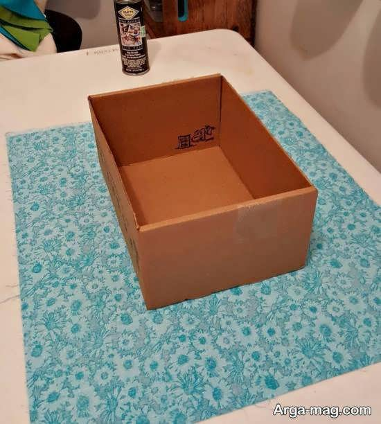 ساخت جعبه با استفاده از ایده های بکر و جدید