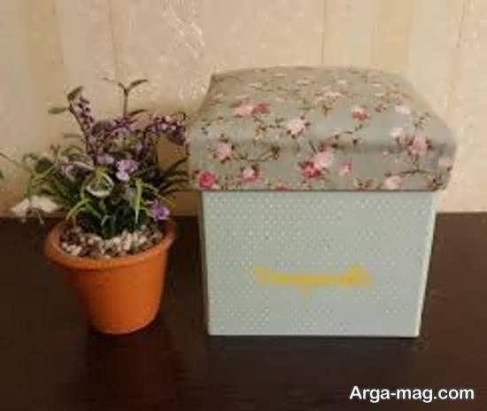 ایده های زبای و جذاب از جعبه سازی با پارچه