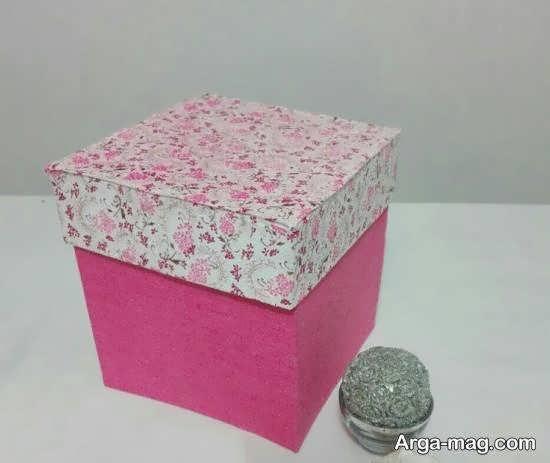 ایده هایی دوست داشتنی و جذاب برای ساخت جعبه با پارچه