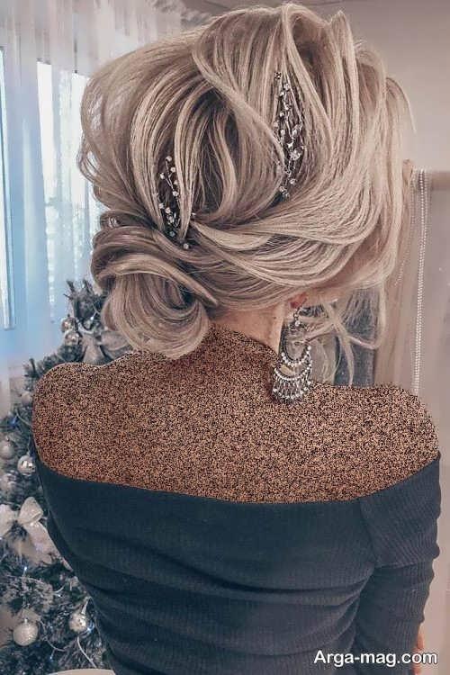 آرایش موی بسته برای عروس