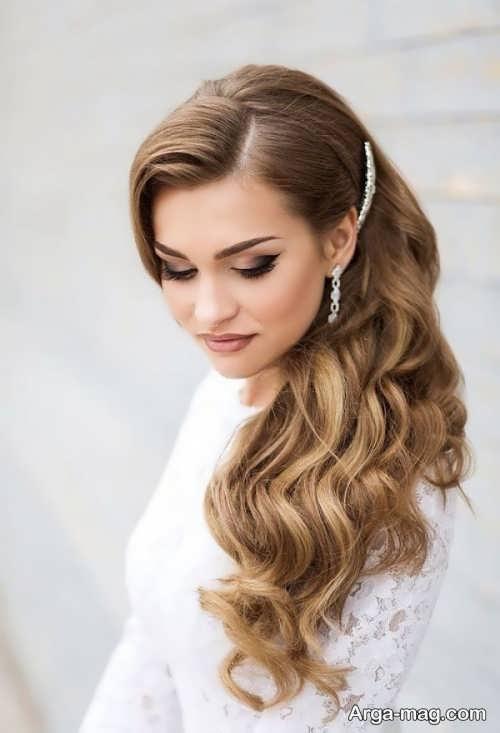 شینیون مو مخصوص عروس
