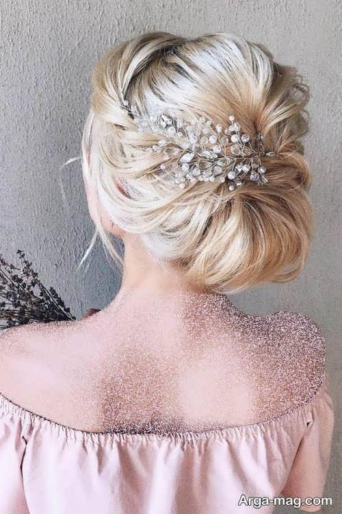 آرایش موی بسته عروس 2021