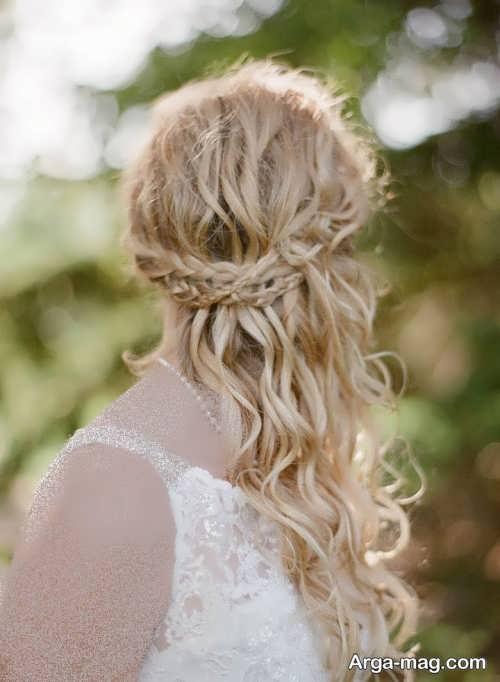 شینیون مو برای عروس