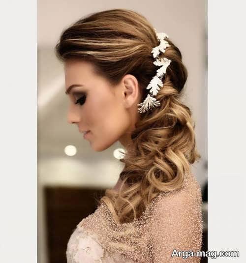 آرایش موی زیبا برای عروس