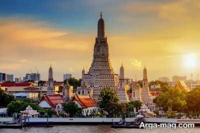 بازدید از شهر بانکوک در تایلند