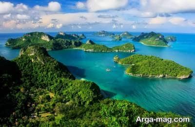 موقعیت جغرافیایی تایلند