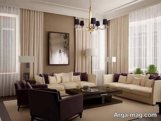 ایده هایی زیبا و جذاب از طراحی و چیدمان منزل با رنگ کرم