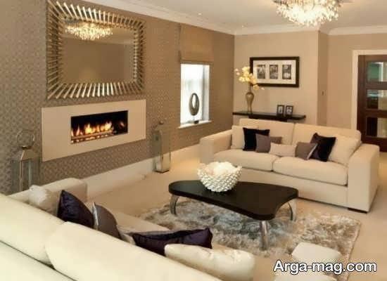 انواع ایده های زیباسازی منزل با رنگ جذاب کرم