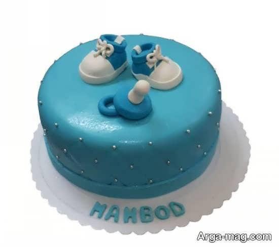 تزیین کیک تولد نوزاد با ایده هایی باسلیقه و زیبا