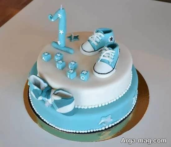 تزیین کیک تولد نوزاد برای همه ی سلیقه ها