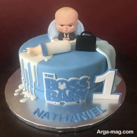 انواع ایده های خاص تزیین کیک تولد نوزاد