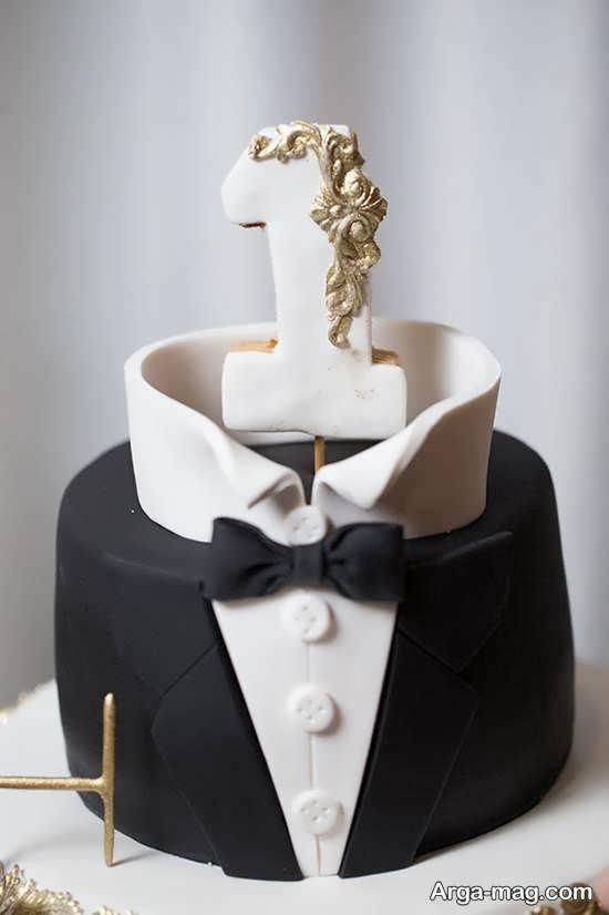 ایده های ناب و زیبایی از تزیین کیک تولد نوزاد