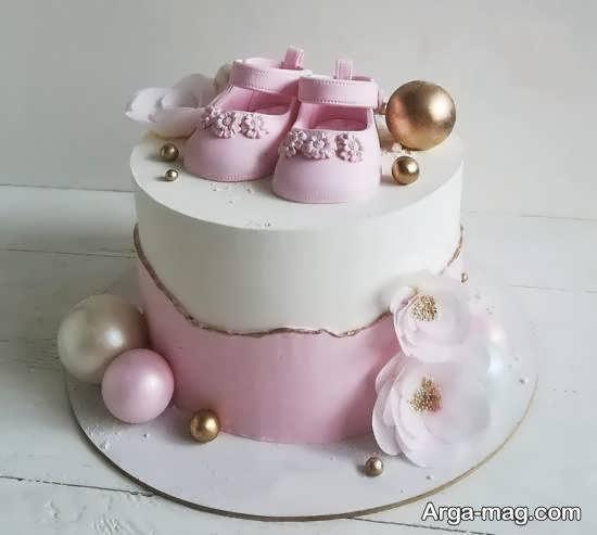 زیباسازی کیک تولد نوزاد با ایده های ناب