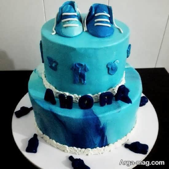 تزیین کیک زادروز نوزاد