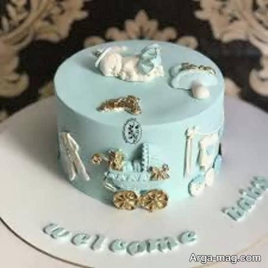تزیین کیک تولد نوزاد