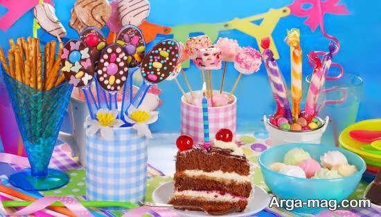 تزیین خوردنی های جشن تولد با استفاده از هنر میوه آرایی