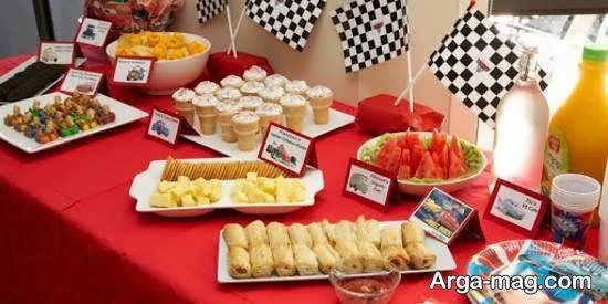 نمونه هایی دوست داشتنی از تزیین خوراکی های جشن تولد