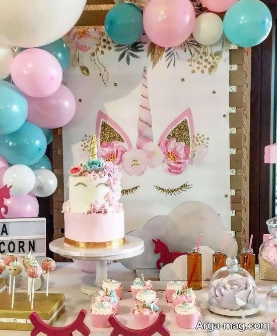 نمونه هایی بینظیر برای تزیین خوراکی های جشن تولد