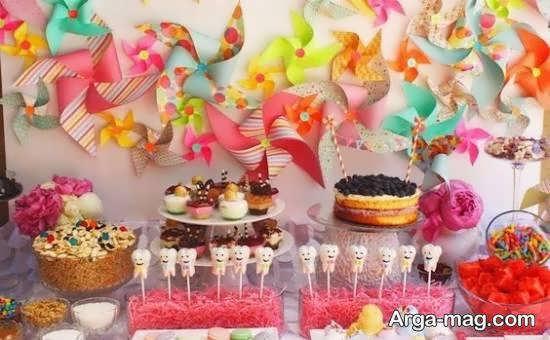 انواع نمونه های زیبای تزیینات خوراکی های جشن تولد