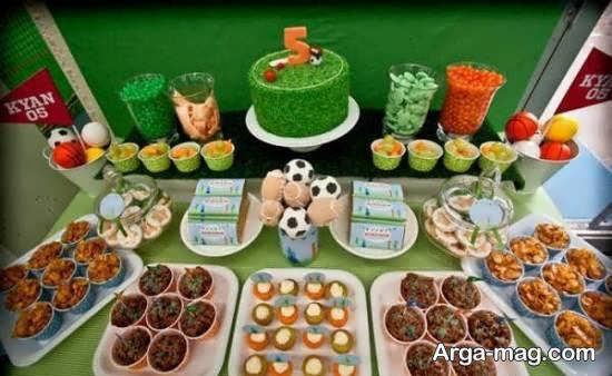 انواع نمونه های زیبا و لاکچری تزیین خوراکی های جشن تولد