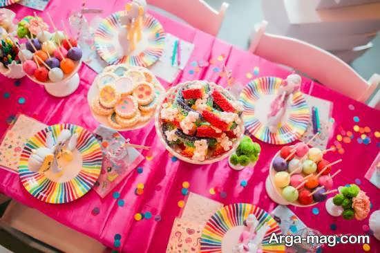 نمونه هایی خاص از تزیین خوردنی های جشن تولد برای تمامی سلیقه ها