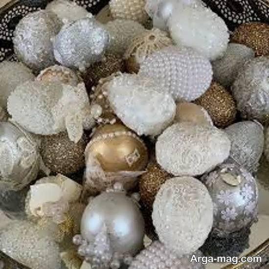 مجموعه ای دوست داشتنی ابرای زیباسازی تخم مرغ سفره عقد
