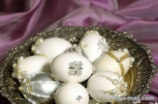 ایده هایی خارق العاده و جالب از تزیینات تخم مرغ برای سفره ی عقد