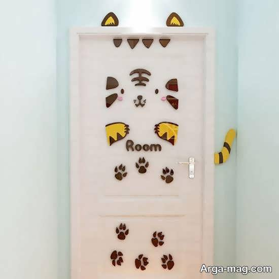 مجموعه ای شیک و زیبا برای زیباسازی و طراحی درب سرویس بهداشتی