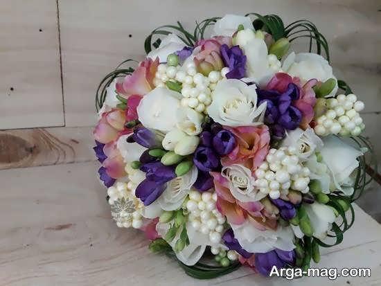 مجموعه ای خارق العاده و هنرمندانه از تزیینات دسته گل عروس