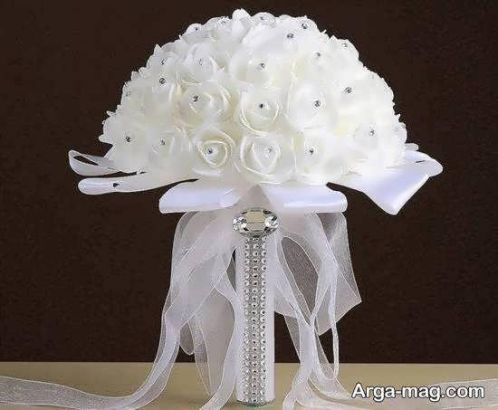 گالری زیبایی از تزیین دسته گل عروس