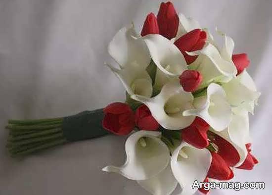 ایده هایی خلاقانه و زیبا از زیباسازی دسته گل عروس
