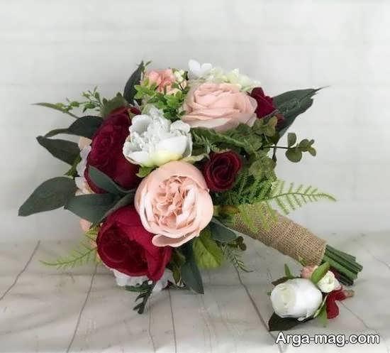 تزیینات دسته گل عروس در اشکال مختلف