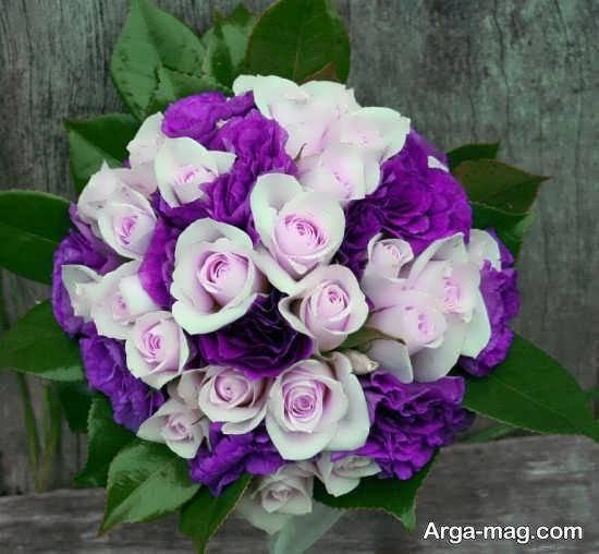گالری شیکی از تزیین دسته گل عروس