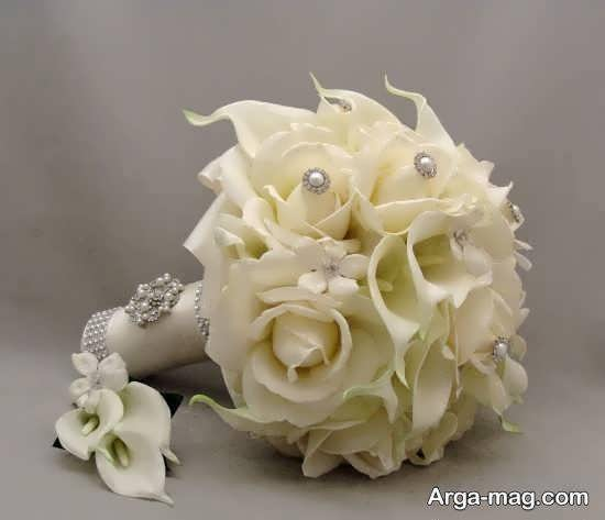 مجموعه ای شیک و کاربردی از تزیین دسته گل عروس